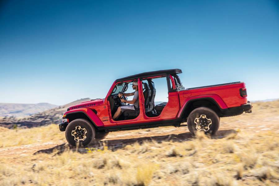 2020 Jeep® Gladiator Rubicon Foto: FCA