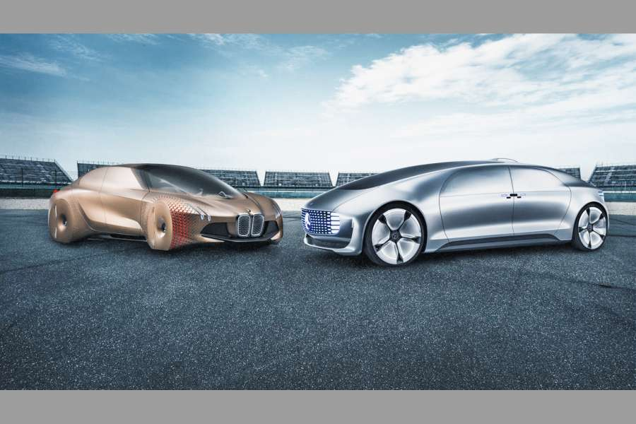 BMW Group und Daimler wollen zusammen die nächste Technologie-Generation für automatisiertes Fahren entwickeln BMW Group and Daimler want to develop the next generation of technology for automated driving together Bild: MediaPortal Daimler AG
