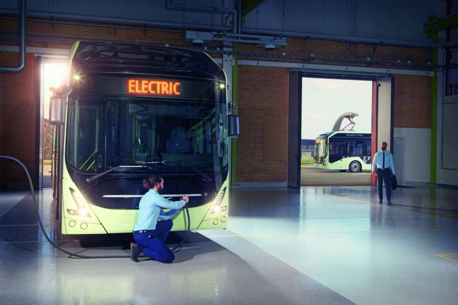 ELECTRIC | Bilder: C. Bünnagel; Daimler; VDL Bus und Coach; Volvo Bus