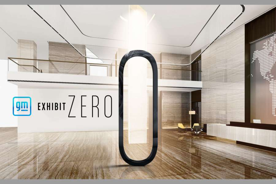 "Unter ""Exhibit Zero"" lud GM in virtuelle Showrooms ein. 