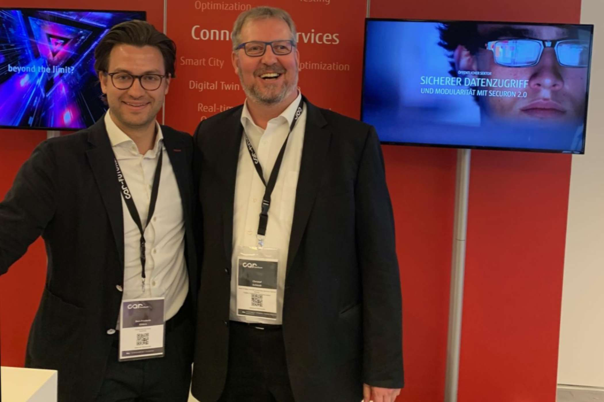 Komplexe Programme für Carsharer und Co. entstehen bei Fujitsu, hier vertreten durch Christof Schleidt, Head of Sales & Business Development Connected Services Manufacturing & Automotive Central Europe | Foto: M. Frey