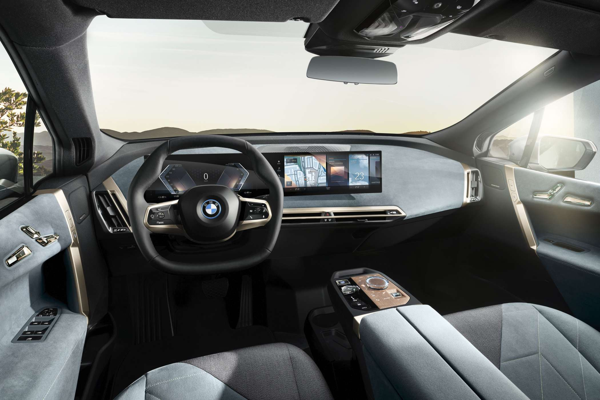 Revolution: Das flauschige Interieur. | Foto. BMW